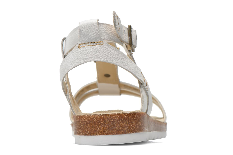 Sandales et nu-pieds Hush Puppies Bretta Jade Blanc vue droite