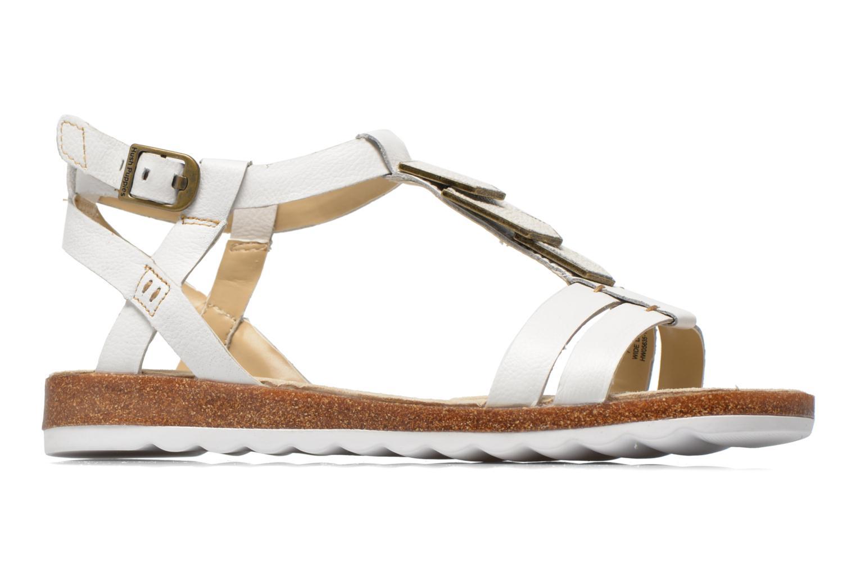 Sandales et nu-pieds Hush Puppies Bretta Jade Blanc vue derrière