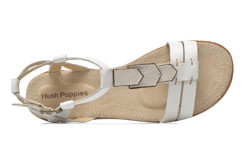 Sandali e scarpe aperte Hush Puppies Bretta Jade Bianco immagine sinistra