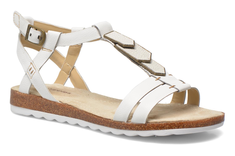 Sandales et nu-pieds Hush Puppies Bretta Jade Blanc vue détail/paire