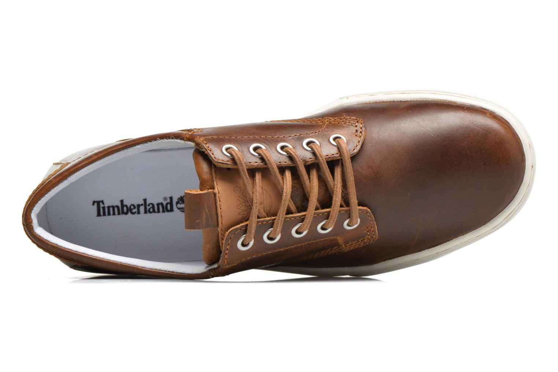 Sneaker Timberland Adventure 2.0 Cupsole Lea braun ansicht von links