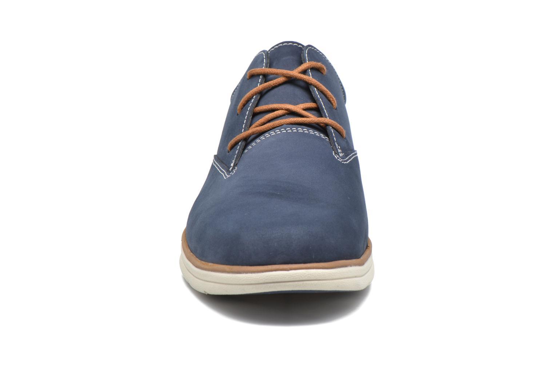 Chaussures à lacets Timberland Bradstreet PT Oxford Noir vue portées chaussures