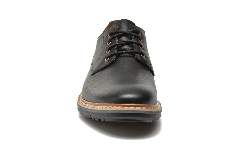 Schnürschuhe Timberland Naples Trail Oxford schwarz schuhe getragen