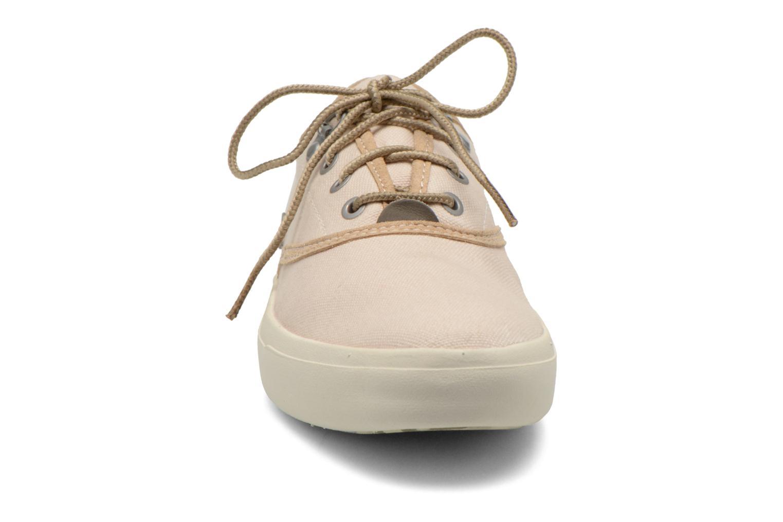 Sneaker Timberland Amherst Oxford beige schuhe getragen