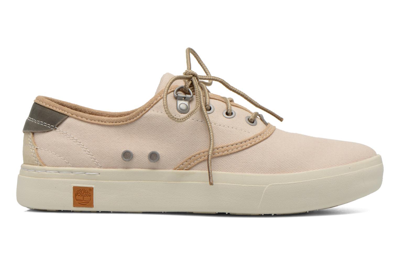 Sneaker Timberland Amherst Oxford beige ansicht von hinten