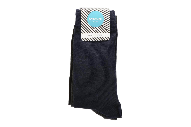 Calcetines Pack de 3 Marine/gris chiné/noir