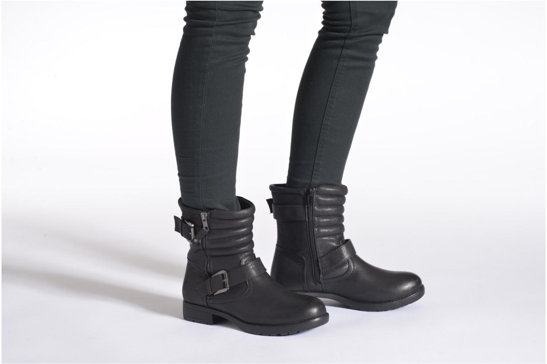 Stiefeletten & Boots I Love Shoes THEK schwarz ansicht von unten / tasche getragen