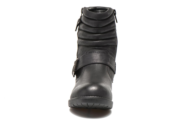 Bottines et boots I Love Shoes THEK Noir vue portées chaussures