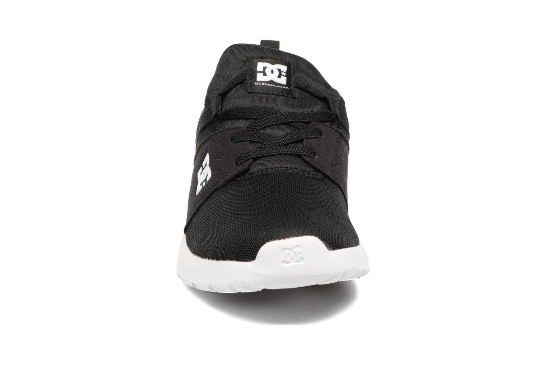 Sneaker DC Shoes Heathrow Kids schwarz schuhe getragen