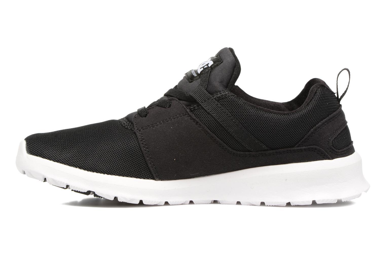 Sneaker DC Shoes Heathrow Kids schwarz ansicht von vorne