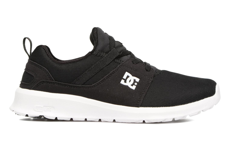 Sneaker DC Shoes Heathrow Kids schwarz ansicht von hinten