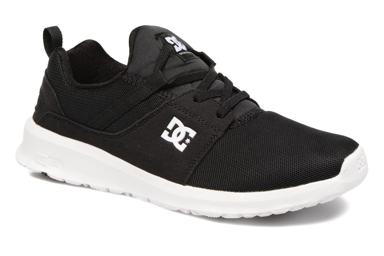 Sneaker DC Shoes Heathrow Kids schwarz detaillierte ansicht/modell
