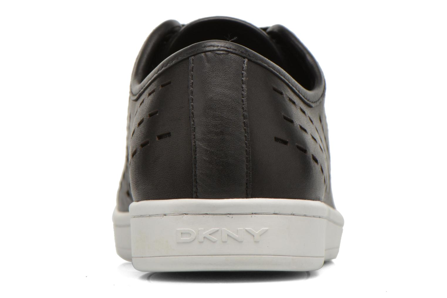 Trainers DKNY Baylee Black view from the right