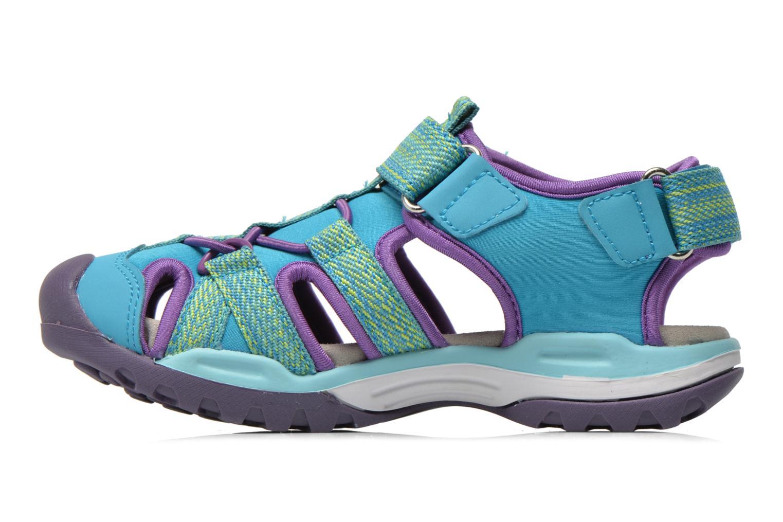 Sandali e scarpe aperte Geox J Borealis G. B J620WB Azzurro immagine frontale