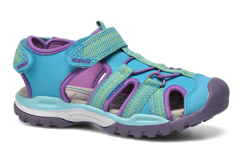 Sandales et nu-pieds Geox J Borealis G. B J620WB Bleu vue détail/paire