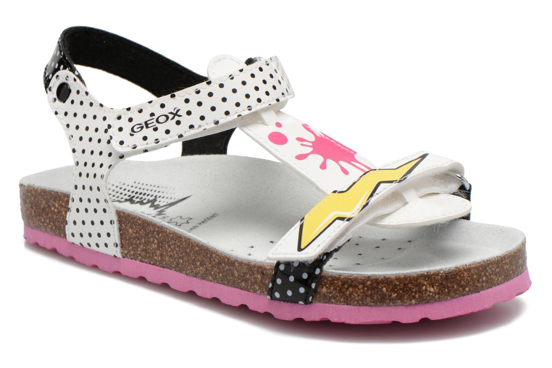 Sandali e scarpe aperte Geox J N.S.Aloha G. B J621CB Bianco vedi dettaglio/paio