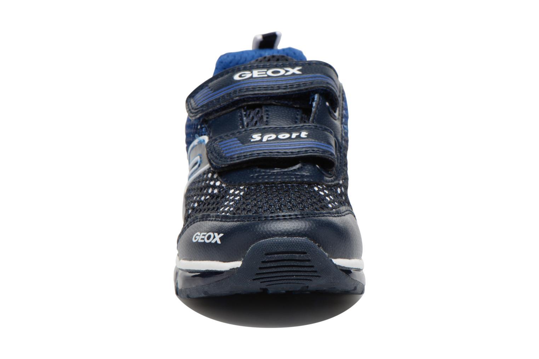 Sneaker Geox J Android B. C J6244C blau schuhe getragen