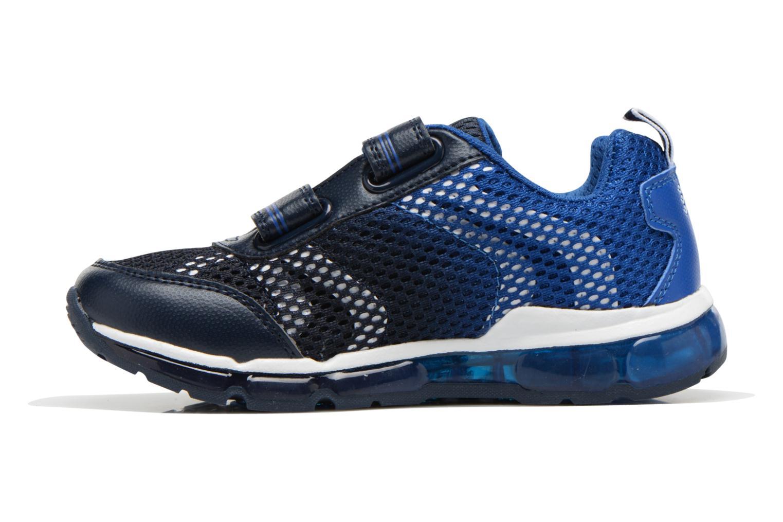 Sneaker Geox J Android B. C J6244C blau ansicht von vorne