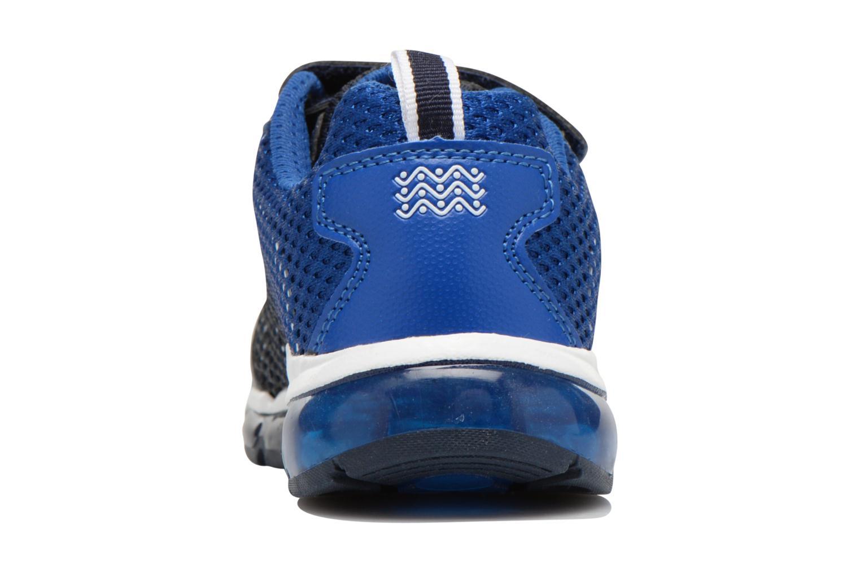Sneaker Geox J Android B. C J6244C blau ansicht von rechts