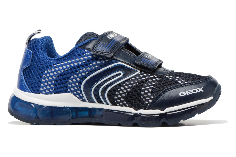 Sneakers Geox J Android B. C J6244C Blauw achterkant