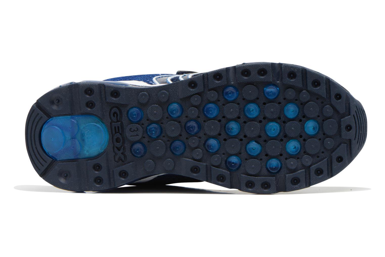 Sneaker Geox J Android B. C J6244C blau ansicht von oben