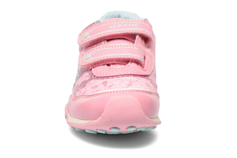 Sneaker Geox J N.Jocker G. A J62G2A rosa schuhe getragen