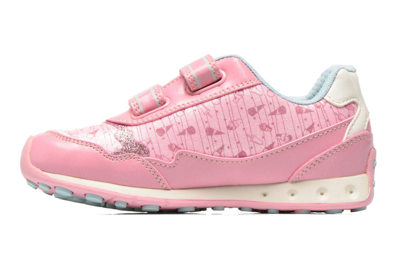 Sneaker Geox J N.Jocker G. A J62G2A rosa ansicht von vorne