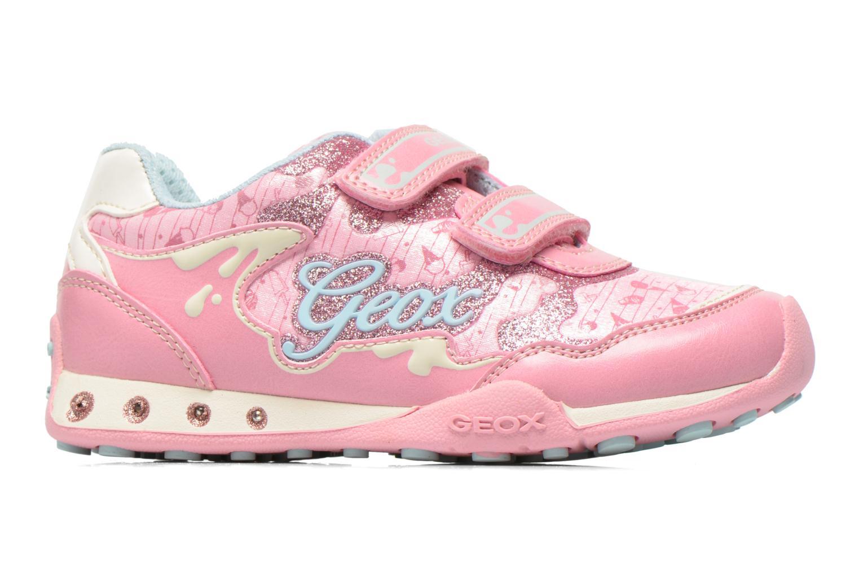Sneaker Geox J N.Jocker G. A J62G2A rosa ansicht von hinten