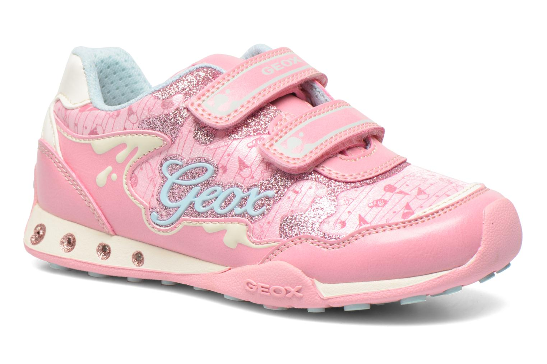 Sneaker Geox J N.Jocker G. A J62G2A rosa detaillierte ansicht/modell