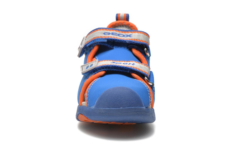 Sandales et nu-pieds Geox B Sand.Multy B. B B620FB Bleu vue portées chaussures
