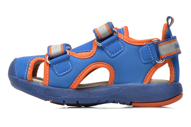 Sandales et nu-pieds Geox B Sand.Multy B. B B620FB Bleu vue face