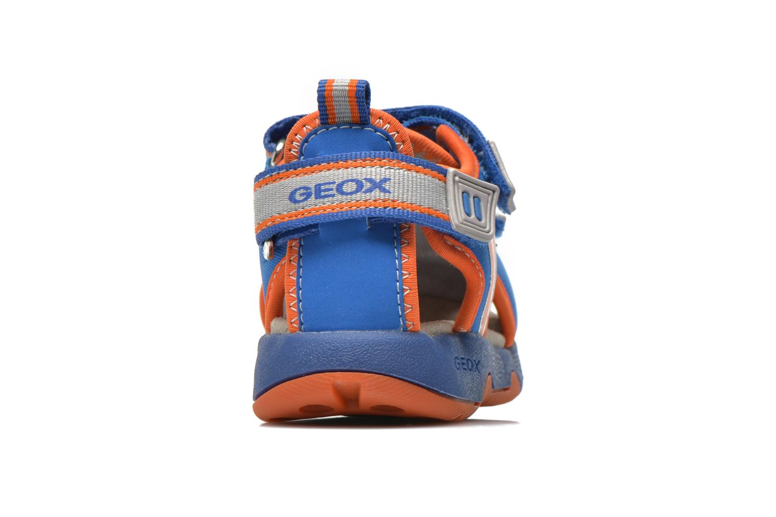 Sandals Geox B Sand.Multy B. B B620FB Blue view from the right