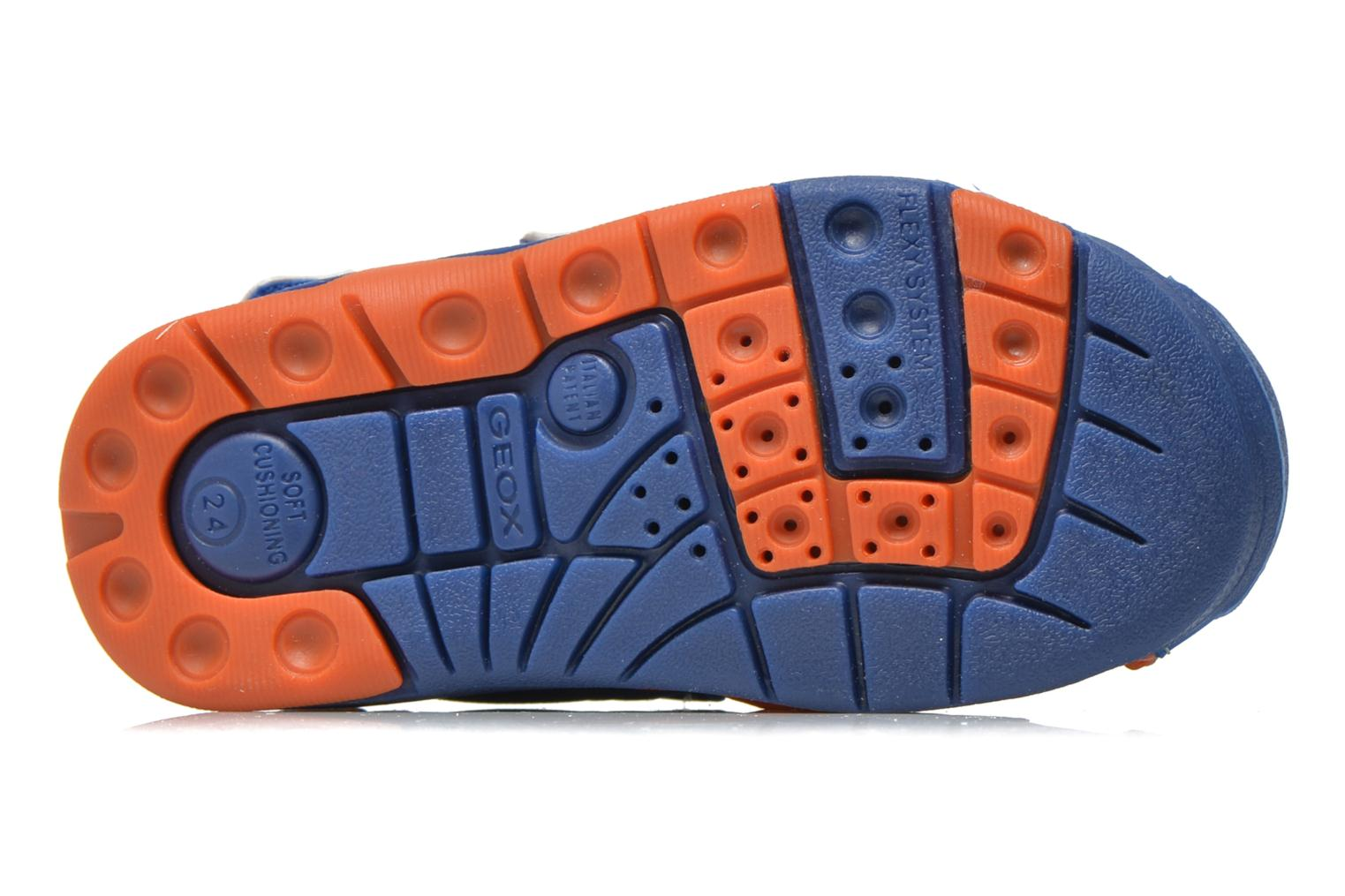 Sandals Geox B Sand.Multy B. B B620FB Blue view from above