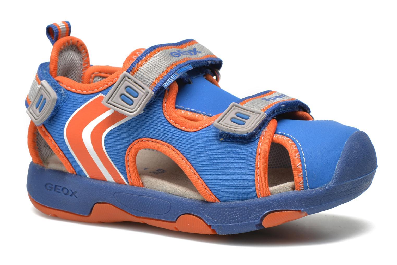 Sandales et nu-pieds Geox B Sand.Multy B. B B620FB Bleu vue détail/paire