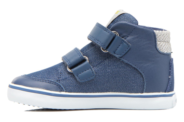 Sneakers Geox B Kiwi G. A B62D5A Azzurro immagine frontale