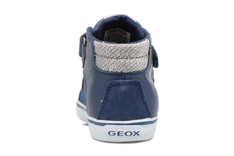 Sneakers Geox B Kiwi G. A B62D5A Azzurro immagine destra