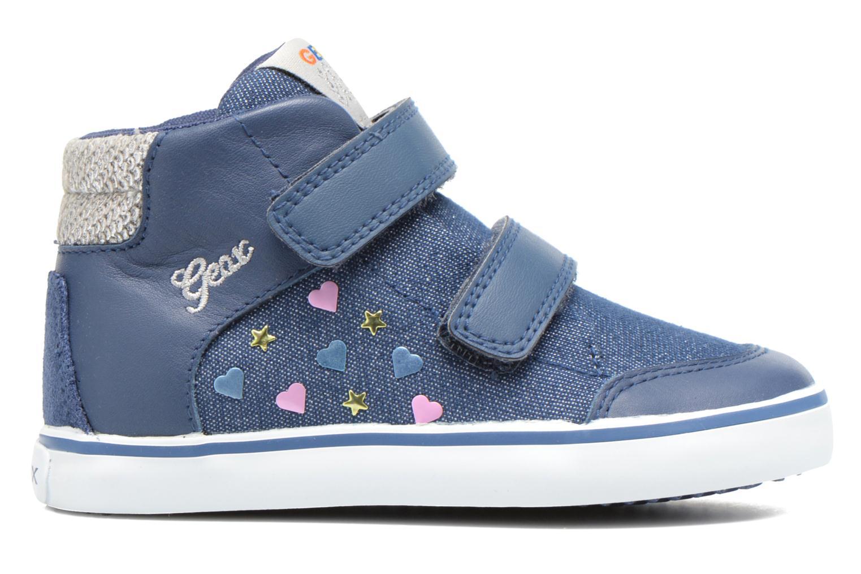 Sneakers Geox B Kiwi G. A B62D5A Blauw achterkant