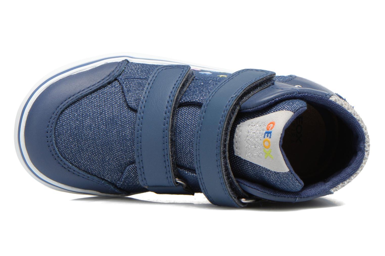 Sneakers Geox B Kiwi G. A B62D5A Blauw links