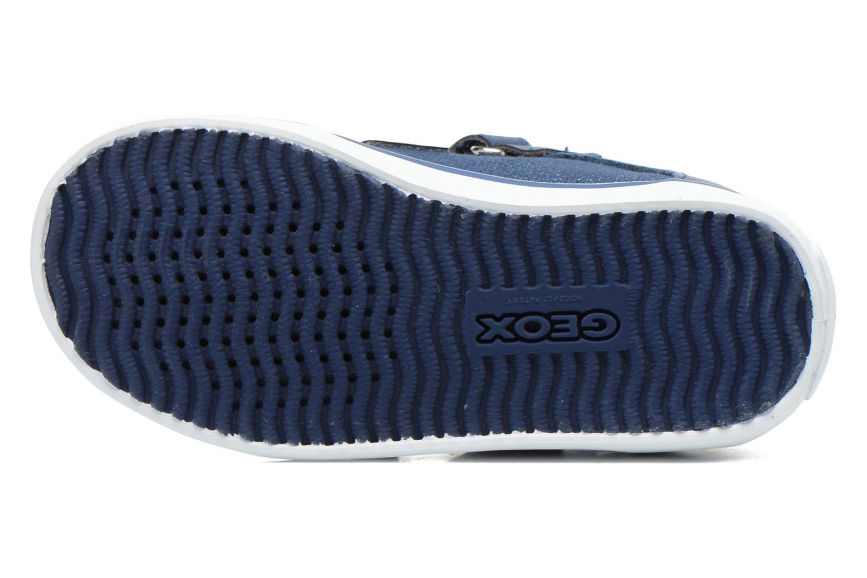 Sneakers Geox B Kiwi G. A B62D5A Azzurro immagine dall'alto
