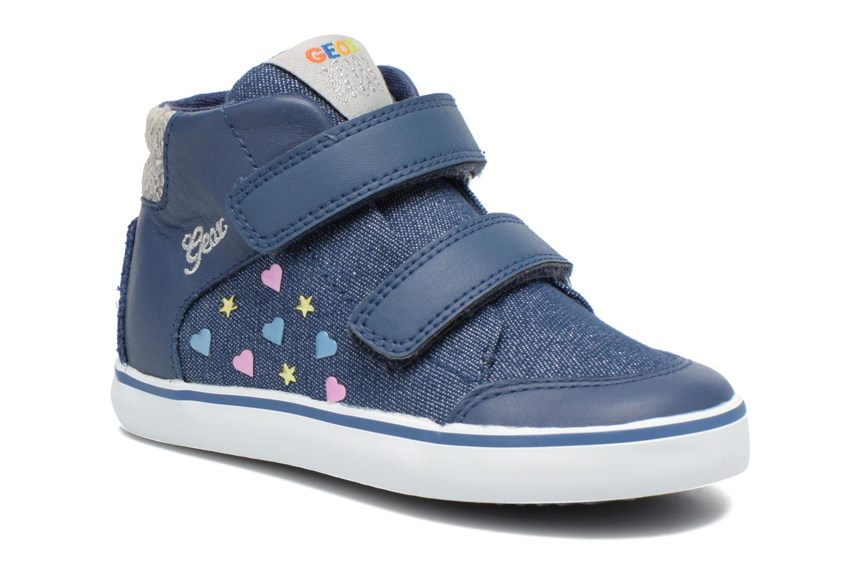 Sneakers Geox B Kiwi G. A B62D5A Blauw detail