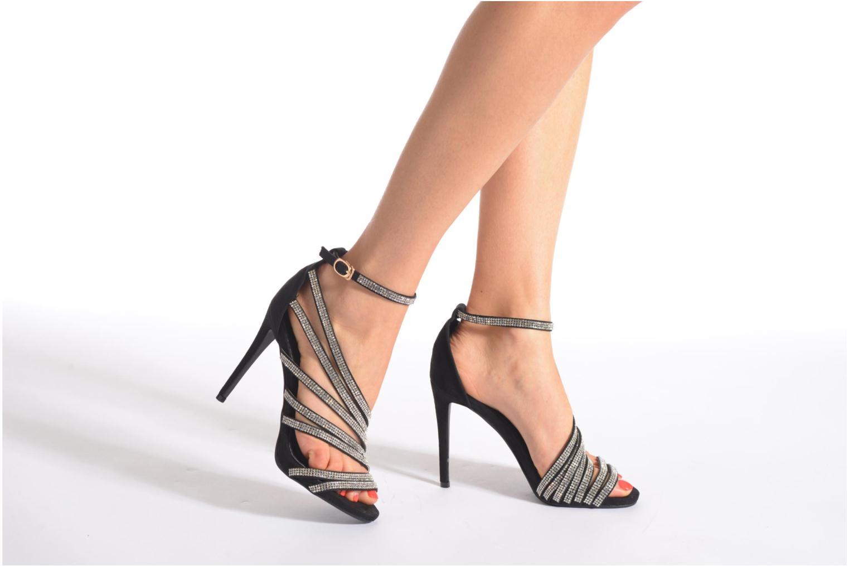 Sandales et nu-pieds Xti Navagio Noir vue bas / vue portée sac