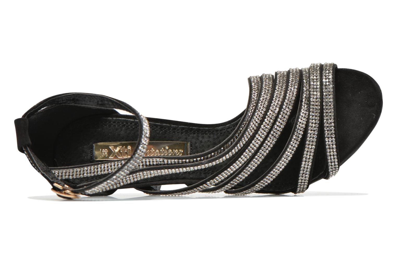 Sandales et nu-pieds Xti Navagio Noir vue gauche