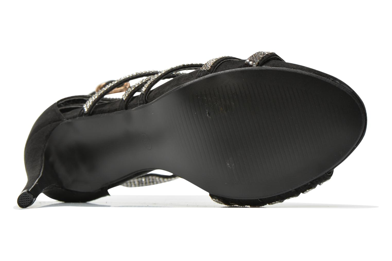 Sandales et nu-pieds Xti Navagio Noir vue haut