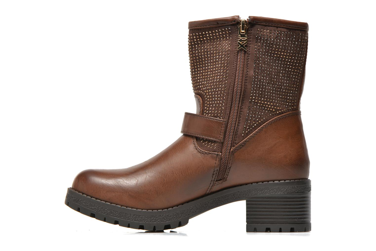 Ankle boots Xti Livadi Brown front view