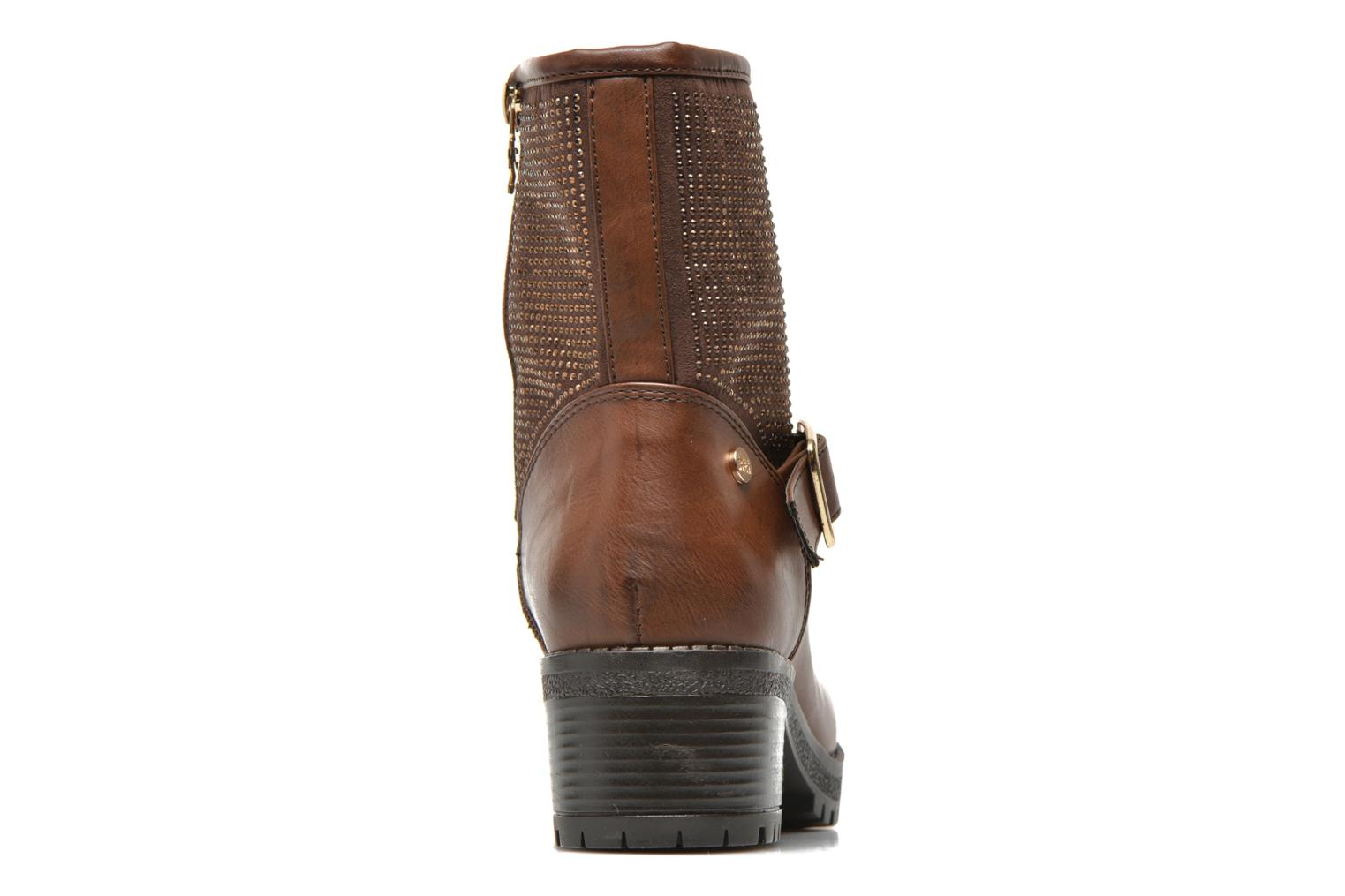 Ankle boots Xti Livadi Brown view from the right