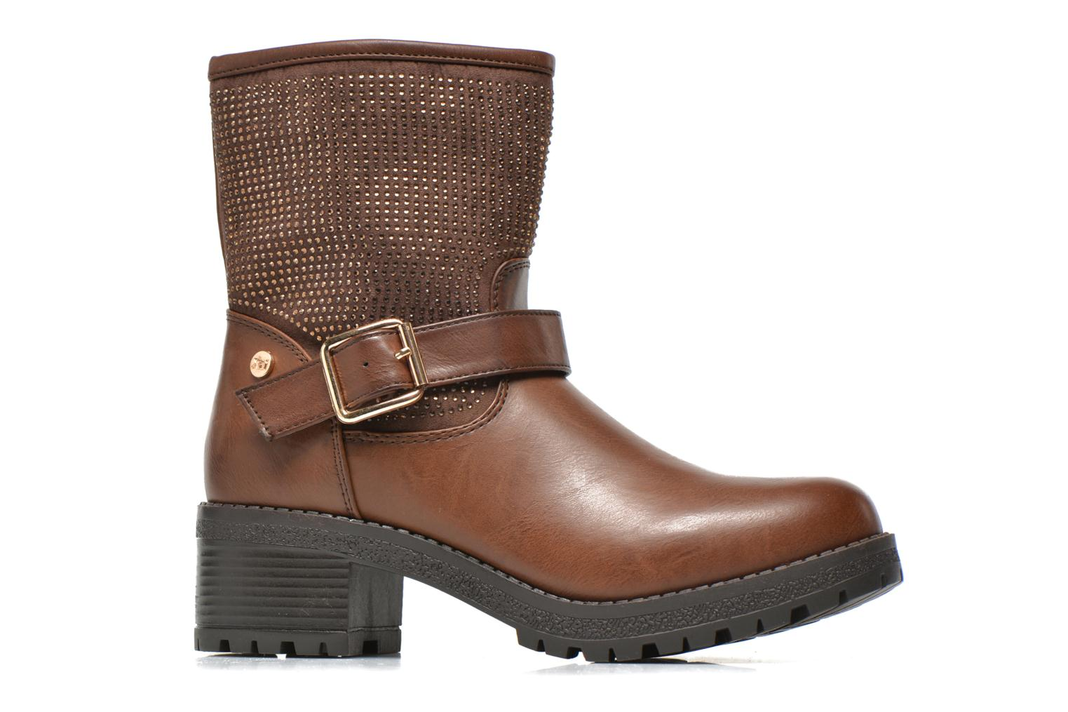 Ankle boots Xti Livadi Brown back view