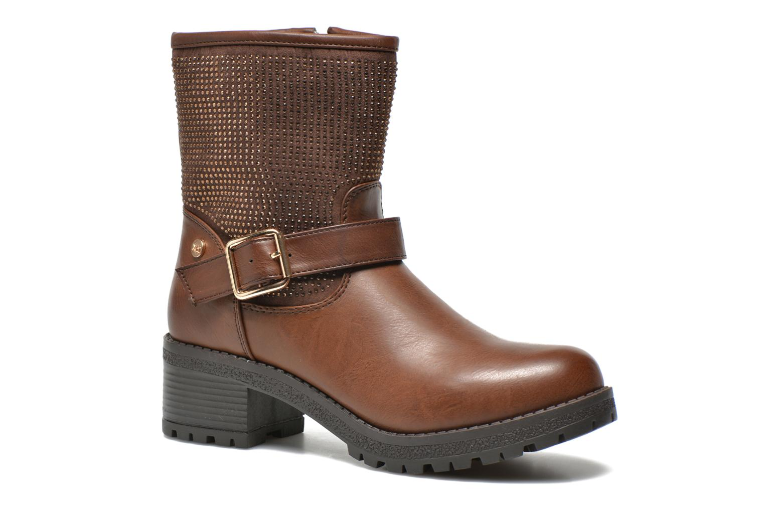 Ankle boots Xti Livadi Brown detailed view/ Pair view