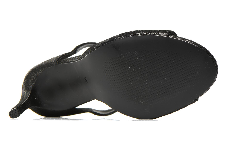 Sandales et nu-pieds Jonak Lysa Noir vue haut