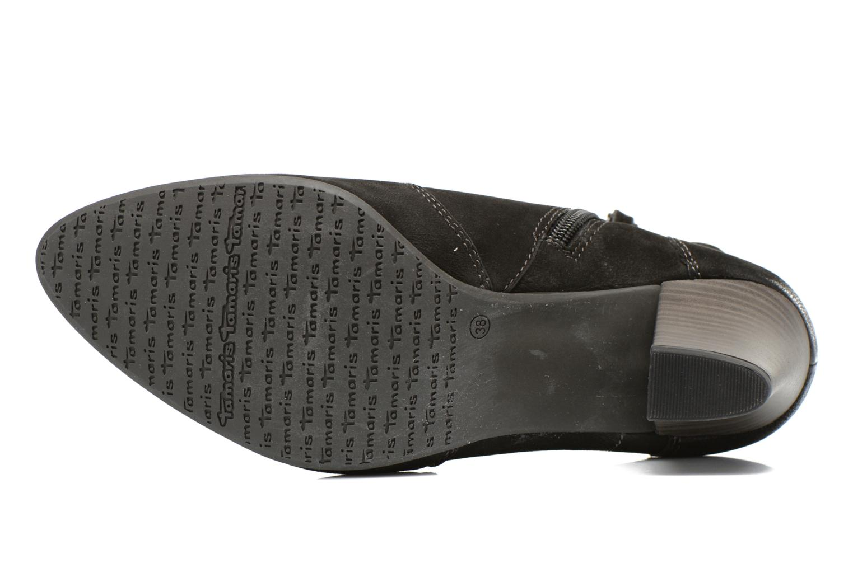 Bottines et boots Tamaris Cara Noir vue haut