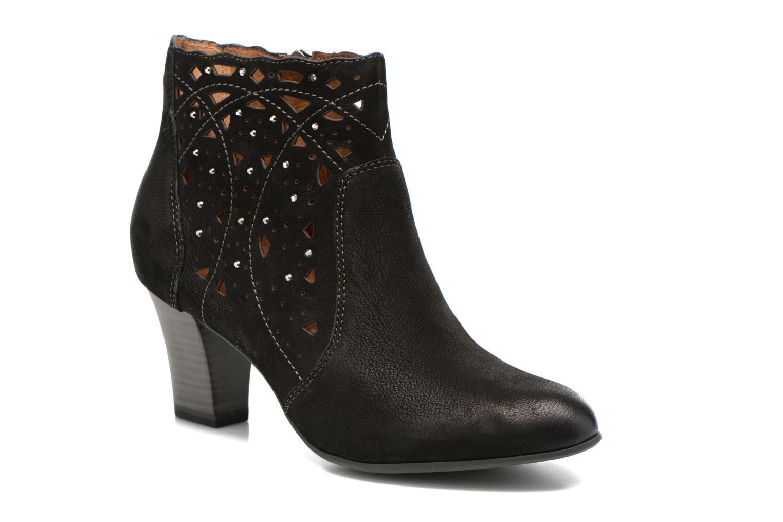 Ankle boots Tamaris Cara Black detailed view/ Pair view